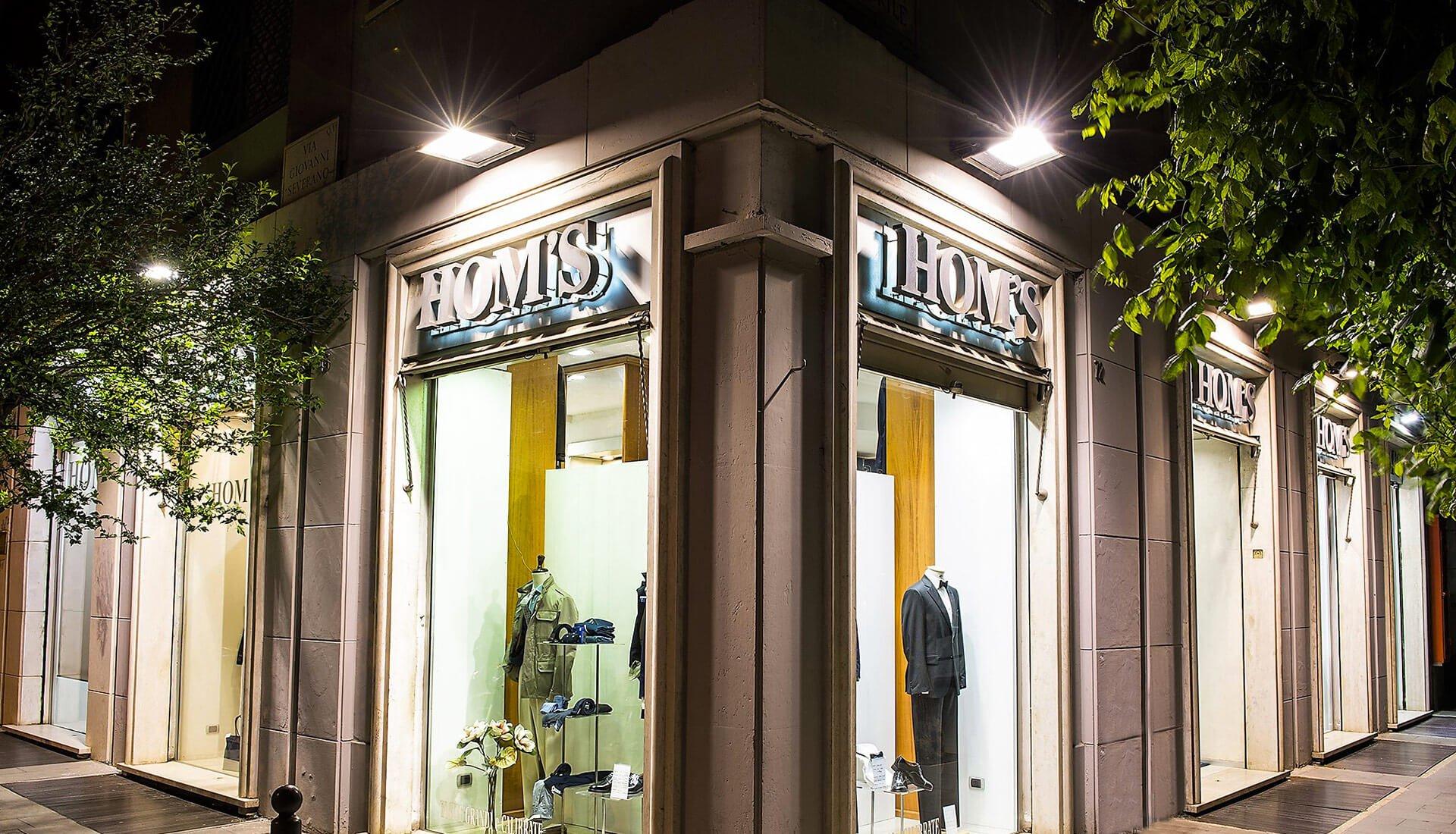 Abbigliamento moda maschile Roma - Hom's Tradizione Moda Maschile dal 1973